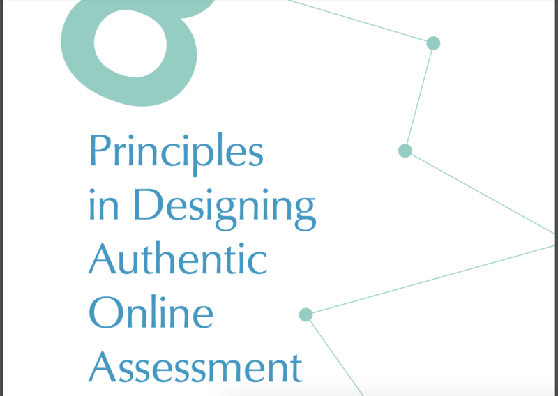 8 Principles in Designing Authentic Online Assessment