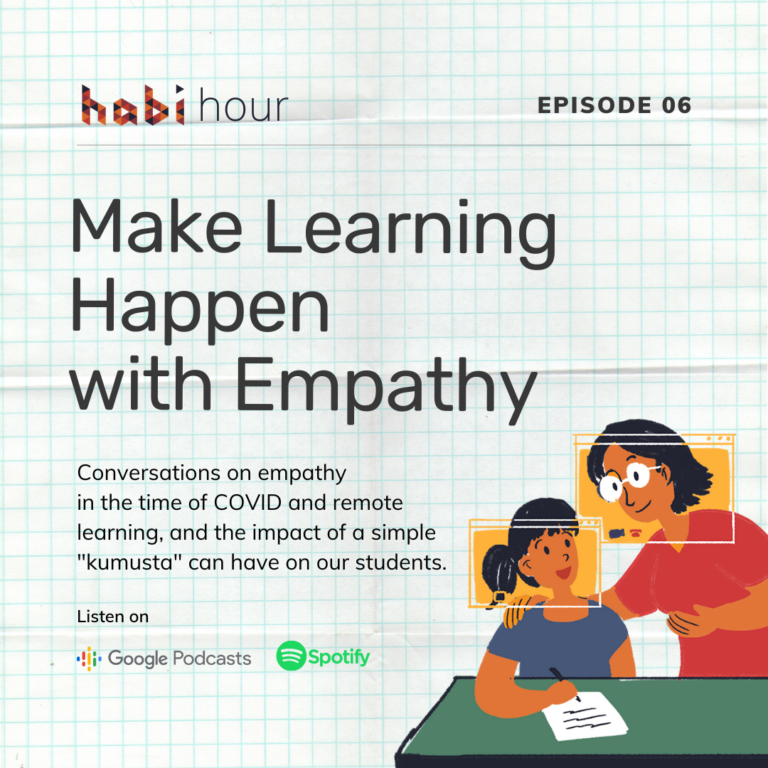 Habi Hour S1 Ep6: Make Learning Happen with Empathy